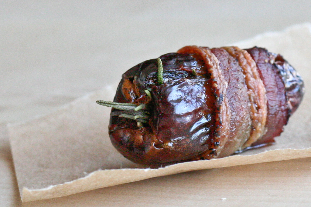 Rosemary Dates Wrapped in Bacon
