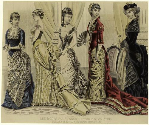 010- Les Modes parisiennes-Recibiendo el año nuevo 1883