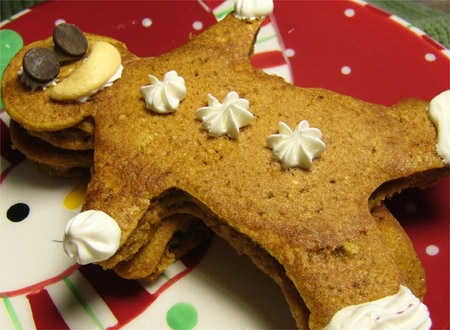 Pumpkin-Gingerbread Pancakes