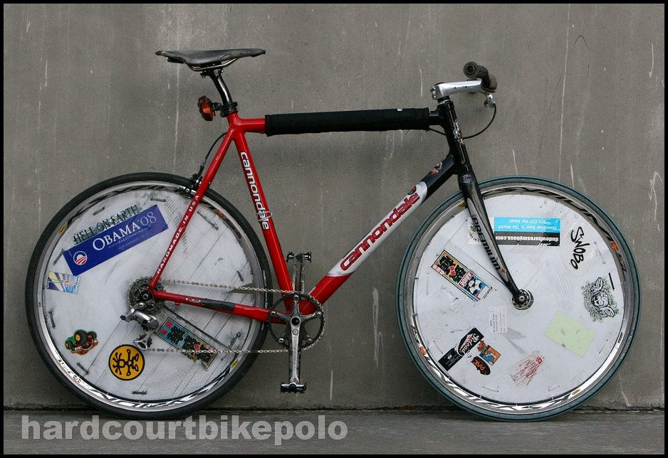 Jason hardcourt polo bike full