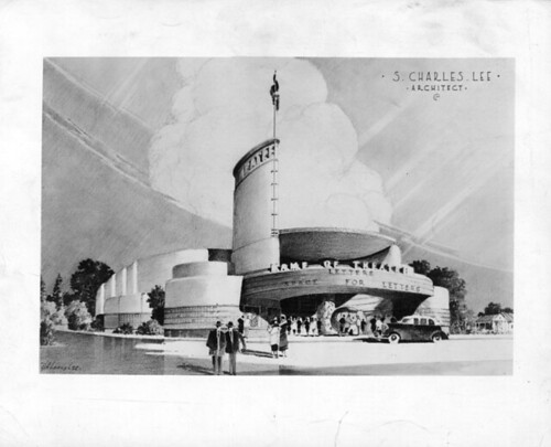 Academy Theatre, Inglewood design drawing