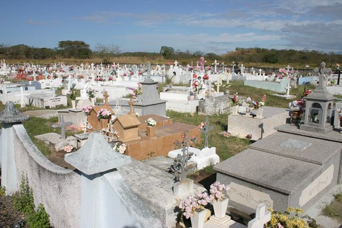 Cemetery, Panama.