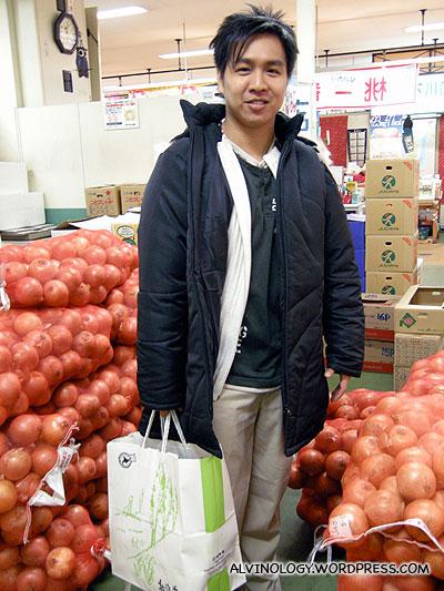 Mark the onion seller