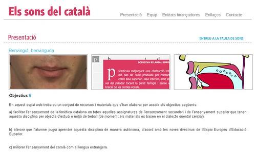 Sons del català