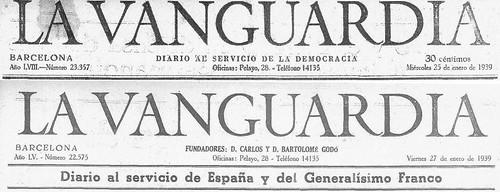 Por una reparación histórica de La Vanguardia