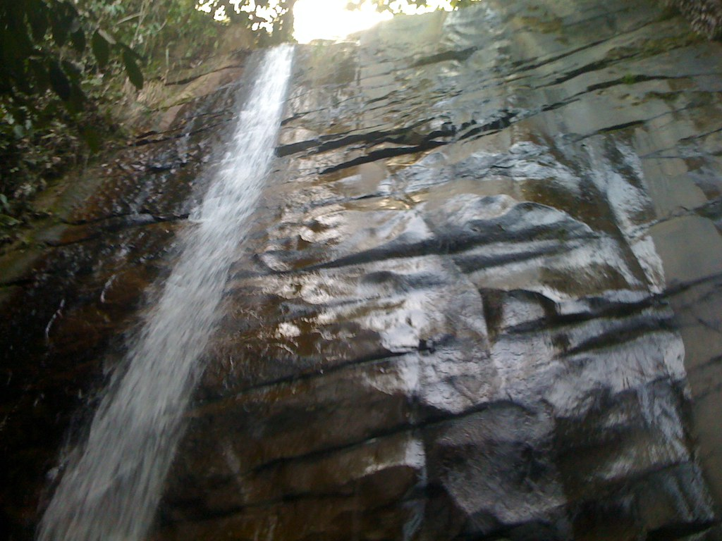 Waterfall off of Belaga river