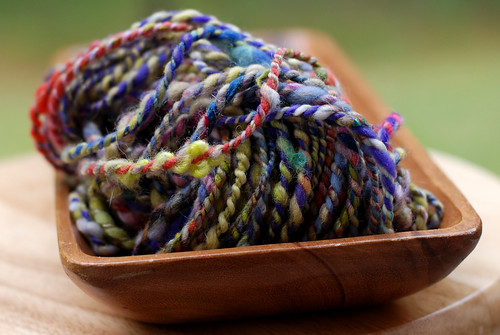 v handspun yarn 083