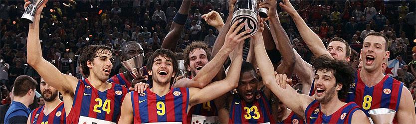 Barça Campeón de la Euroliga