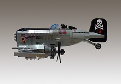 P-23 Skywolf (JonHall18) Tags: plane fighter lego aircraft fantasy pirate vehicle gunship moc skyfi dieselpunk dieselpulp