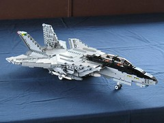 6 (dpwcc) Tags: fighter lego f14 aircraft military navy wing jet super swing fleet defence tomcat grumman f14d
