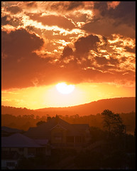Queensland (ylvan) Tags: sunset red orange sun yellow clouds canon relax bravo afternoon searchthebest australia brisbane 300mm queensland f56 highgatehill chill soe firstquality xoxoxoxoxoxo 1400sec flickrplatinum infinestyle 300mmf28is