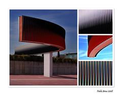 """""""Fisicroma para Madrid"""" de Carlos Cruz Dez (Pablo Arias) Tags: madrid arte nikond50 parquejuancarlosi edificiosymonumentos"""