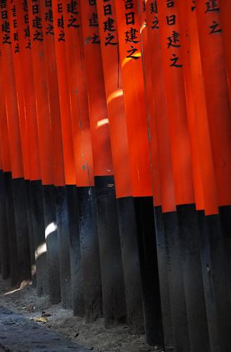 Rojo infinito. Fushimi Inari-Taisha. Templos (3). Kyoto Tales (6)