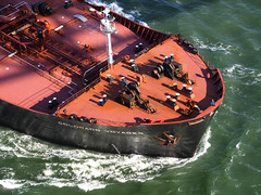 STP83125 (emanistan) Tags: sanfrancisco california ship bow goldengate sanfranciscobay tanker bulbousbow coloradovoyager