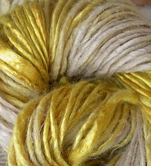 Straw Into Gold handspun