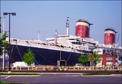 USS United States (blonde_sage) Tags: docked oceanliner southphiladelphia columbusblvd ussunitedstates acrossfromikea idlovetoseeinside