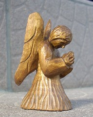 ANGEL (romekdziem) Tags: sculpture angel carving lipa micro rzeba limelimewood anioanioek