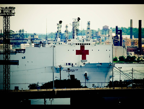 US Naval Ship COMFORT