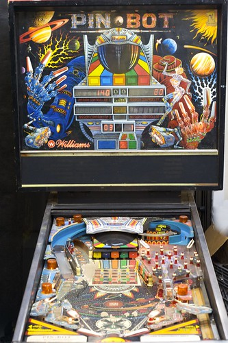 PIN-BOT: Backglass & Playfield
