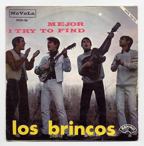 05- Los Brincos-España-1966-frontal