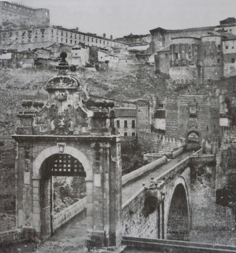 Puente de Alcántara y Alcázar antes de 1864