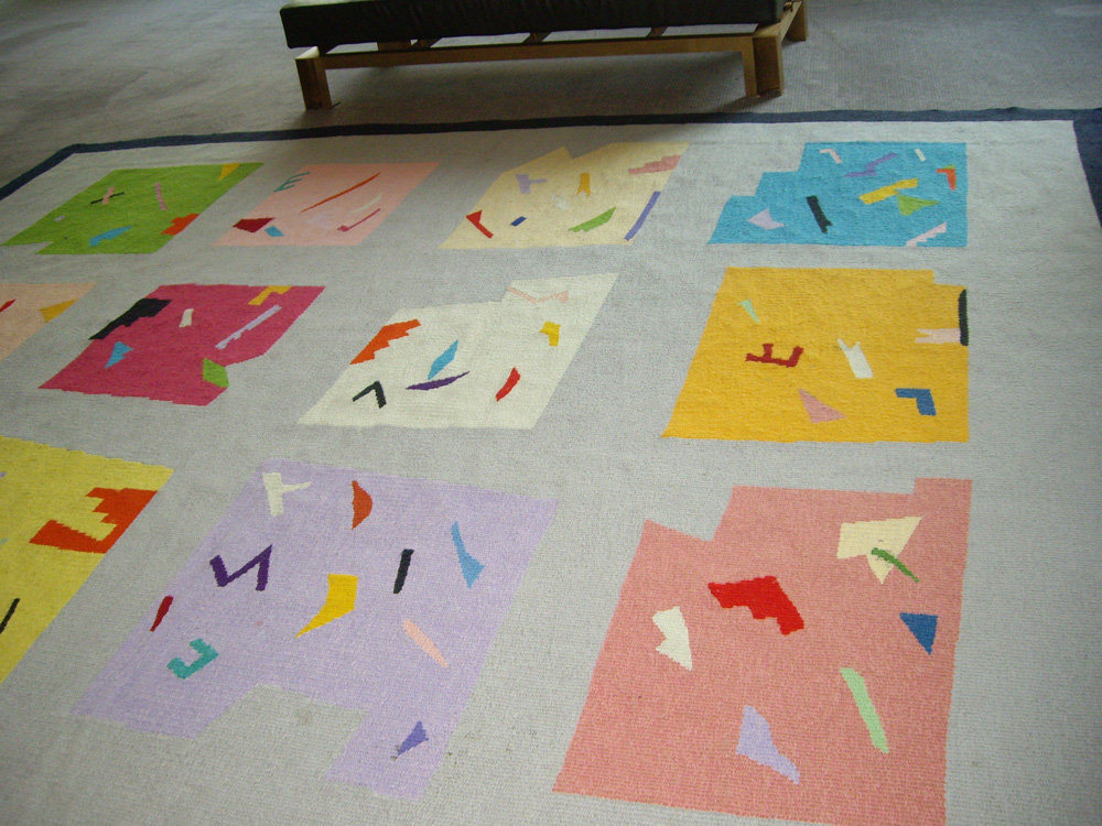 Liz Nettleton tapestry floor rug