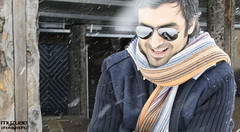 ~ sh59 thani (~my7uae) Tags: snow scarf austria rayban kaprun my7uae  kaprun2008