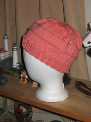 Chemo Hat - Coral #2