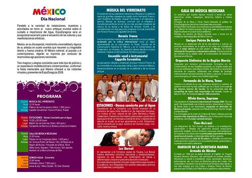 Día nacional de México en la Expo Zaragoza 08