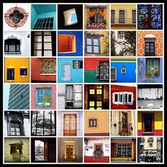 Mosaico de ventanas en Muestra tu Mxico (Lucy Nieto) Tags: windows collage mxico tile mexico fdsflickrtoys mosaic mosaico ventanas creativecommons colourartaward muestratumxico