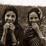 Two Afghan girls