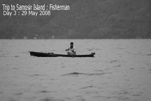 Trip To Samosir Island : Fisherman