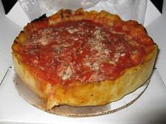 Lou Malnati's Pizzeria: Deep dish cheese pizza - individual