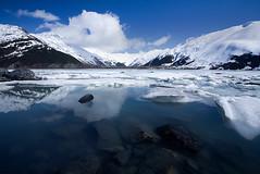 Alaska (Brett Cohen) Tags: blue snow cold ice water alaska landscape glacier brett cohen portage aplusphoto bratanesque