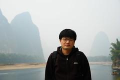 2007.10.28_2 121 (Jake Ji) Tags: china river guilin yangshuo  lijiang guangxi    lijiangriver  xingping    xijie   fishingvillagee yulongheriver