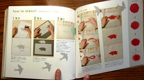 Japanese Stencil Idea Book