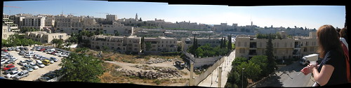 Panorama of Jerusalem from the HUC