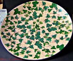 Efeuteller5 (CreAtions2007) Tags: alice fay rath decoupage efeu obstteller schmuckteller bambusteller alicefayrath
