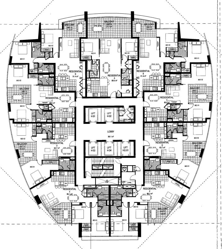 plugins get the image 8 unit apartment building plans images frompo