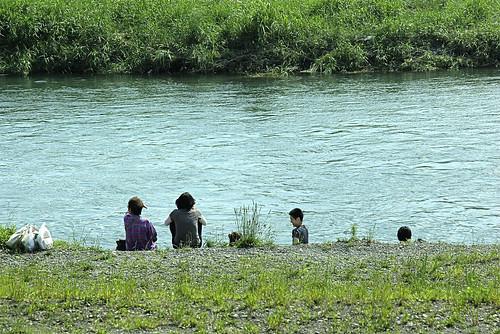 多摩川…夏 II