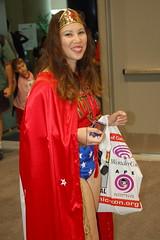 Comic Con 2008: Wonder Woman (earthdog) Tags: 15fav bag word costume sandiego cosplay wonderwoman hero superhero cape dccomics 2008 comiccon justiceleague comicbookcon sdcci comiccon08 upcoming:event=320876 needsflickrpeople needscamera needslens