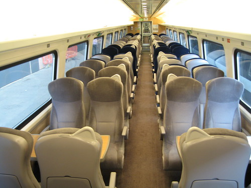 Escorted group travel in private train carriages on East Coast