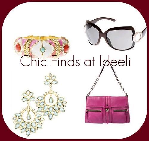 chic finds at ideeli