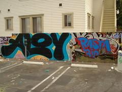 Aloy MSK Rasta Rip LosAngeles Graffiti Art