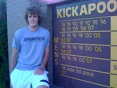 Ryan Moses, Kickapoo Chiefs 2008