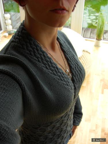 Made of steel kimono sweater