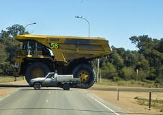 crossing (dalinean) Tags: road big crossing transport sigma australia mining machinery huge sd10 quarry komatsu immense westaustralia 630e komatsu630e