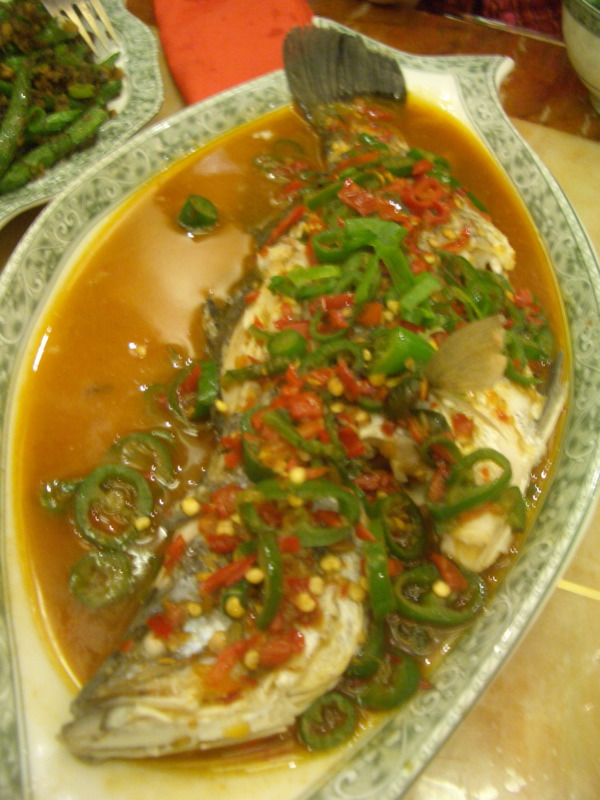 Sichuan Dining Room fish