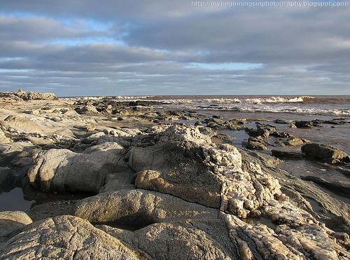Sky, sea and rocks