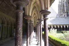 Cloître du Mont Saint Michel